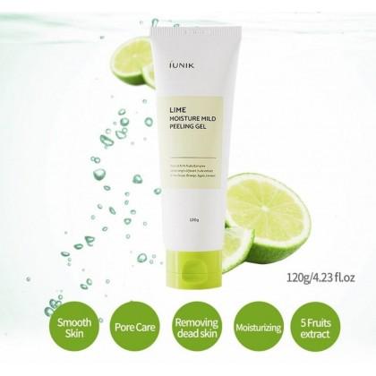 iUNIK Lime Moisture Mild Peeling Gel 120ml