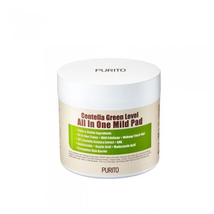 Purito Centella Green Level All In One Mild Pad 10pads / 70pads [BeautyBabe]