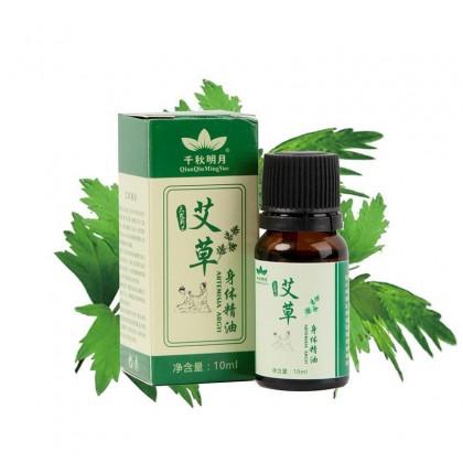 Artemisia Argyi Body Massage Oil for Detox Blood Circulation Body Relax Essential Oil [10ml]